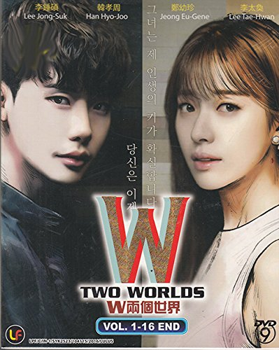 W - Two Worlds ( 3-DVD set, Korean Drama with English Sub)