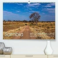 Sambia - ein grossartiges Land (Premium, hochwertiger DIN A2 Wandkalender 2022, Kunstdruck in Hochglanz): Sambia ist ein grossartiges, touristisch noch wenig erschlossenes, Land mit phantastischen Menschen, Tieren und Landschaften. (Monatskalender, 14 Seiten )