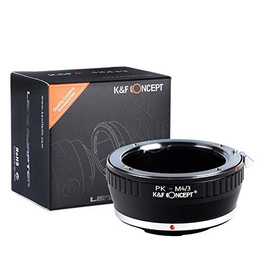 [正規代理店]K&F ペンタックス Kレンズ-マイクロフォーサーズ m4 3 マウントアダプター レンズクロス付 pk-m43 (KFM43)