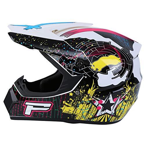 Product Image 7: Samger DOT Adult Offroad Helmet Motocross Helmet Dirt Bike ATV Motorcycle Helmet Gloves Goggles