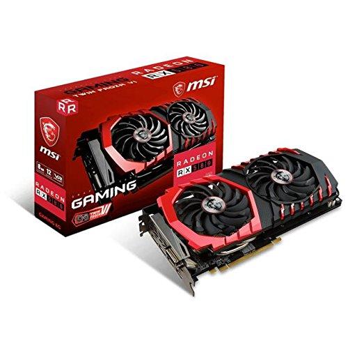 MSI AMD Radeon RX 580游戏8G GDDR5 DVI/2HDMI/2Displayport PCI-Express显卡