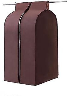 Large Coffee Oxford Wardrobe, Hanging Clothing Closet Storage Bag, Jumbo Garment Cover Bag, Wardrobe Closet Organizer Prot...
