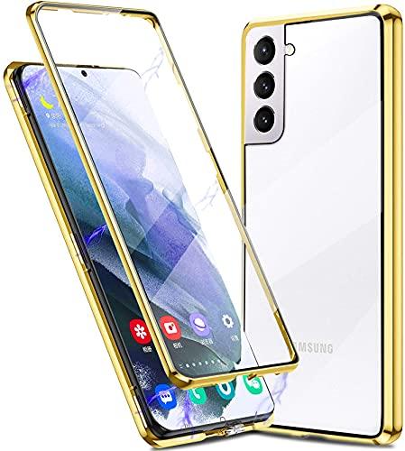 Funda para Samsung Galaxy S21 Plus 5G Magnética Carcasa[con Cerradura de Seguridad],360 Grados...