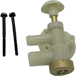 Beech Lane RV Upgraded Toilet Water Valve Assembly 385314349 for Dometic Sealand EcoVac Vacuflush Pedal Flush Toilets, Compare to Dometic 385314349, Leak Free Brass Cap, Works in Freezing Conditions