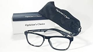 Computer Glasses Blue Light Blocking- Anti Glare Computer Glasses for Men and Women. Optician Crafted in USA. No Magnification