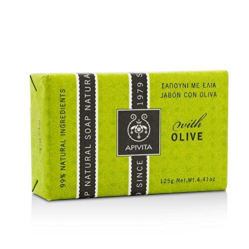 Savon hydratant naturel Apivita à l'huile d'olive 125g
