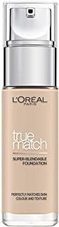 L'Oreal Paris True Match Liquid Face Foundation - 1.01 oz., 1R1C1K Rose Ivory