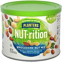 NUTrition Cashew, Almond & Macadamia Nut Mix (9.75 oz Can)