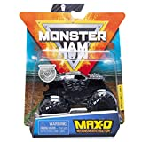 Monster Jam 2020 Spin Master 1:64 Diecast Monster Truck with Wristband: Maximum Destruction MAX D Black