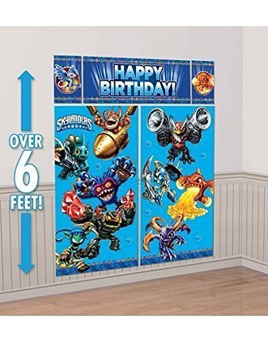 Skylanders Wall Decorating Kit Scene Setter