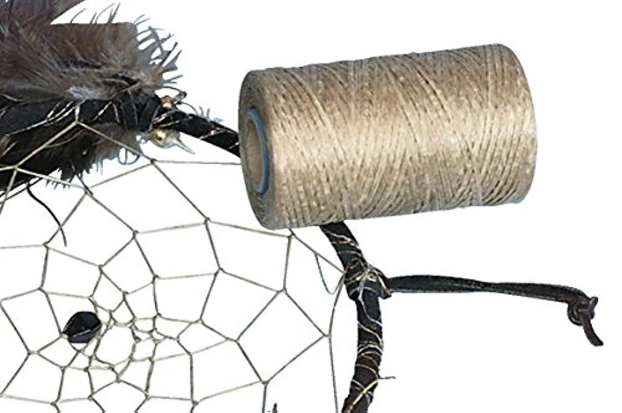 Realeather BS108 Silver Creek Leather Flat Imitation Sinew, Polyester Fiber, 1000' Size, 8 oz. Spool