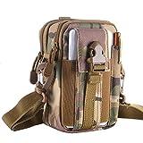 FiveloveTwo Multifunktional Tactical Bag Hüfttaschen Beintasche Reisen Klettern Radfahren und Joggen Gürtelbefestigung einstellbare EDC Molle Werkzeug Taille Pack Bag Tasche Bunt