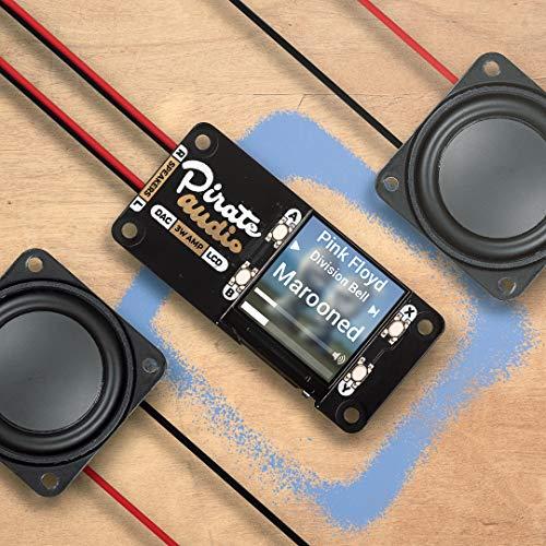 Pirate Audio: 3W Stereo Amp für Raspberry Pi