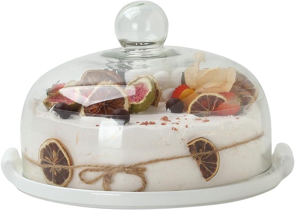 8 inches 20cm Ceramic Cake Dessert Ranking TOP6 plate cake Binaural pl round discount