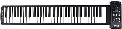 Puzzle Klavier Hand Roll Klaviertastatur 61 Schlüssel Anf er Erwachsene Kinder Praxis Tragbare Kann an Handy Tablet Verbunden Werden
