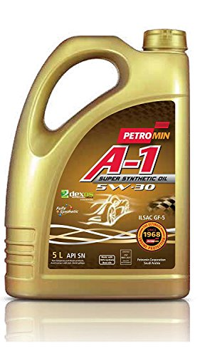 Petromin A-1 Super Synthetic Oil SAE 5W30 SN, Huile moteur...