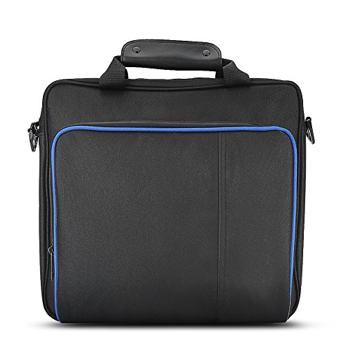 Portable Handbag Travel Storage Bag Fully Protective Shoulder Bag Waterproof Shockproof for PS4