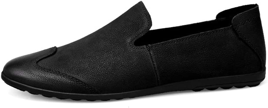 Color : Black, Size : 10 M US Mens Popular Oxford Shoes Mens Fashion Comfortable Loafers Casual and Low Top Individual Stitching Lightweight Boat Moccasins Recommended Popular Oxford Shoes