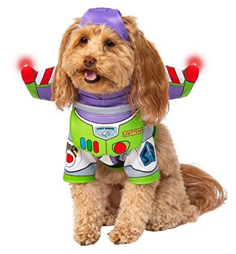 Rubie's Disney: Disfraz para mascota, Buzz Lightyear, grande