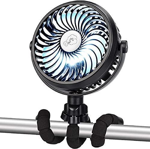 ventilador flexible usb de la marca Kakeedoo