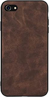 Mobile Phone Case, PC + PU + TPU Anti-Skid Shockproof Case for Iphone 7, Iphone 8 And Iphone SE 2,Brown