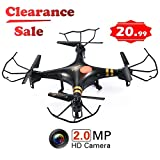 GP TOYS RC DRONE F2C - Camera HD da 2MP – Quadricottero 6 Assi con Giroscopio – Sistema 2.4 GHz,...