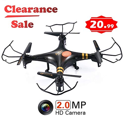 GP TOYS RC DRONE F2C - Camera HD da 2MP – Quadricottero 6 Assi con...