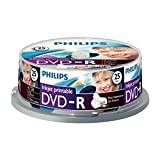 Philips DM4I6B25F/00 Boîte de Media Vierge DVD-R 25 Pièces Blanc
