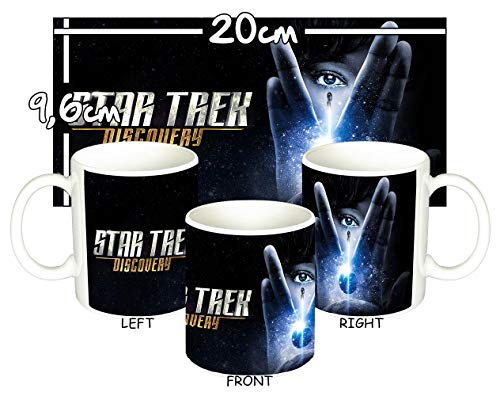 MasTazas Star Trek Discovery D Tasse Mug