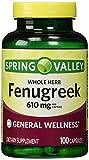 Best Fenugreek Capsules - Spring Valley - Fenugreek 610 mg, 100 Capsules Review
