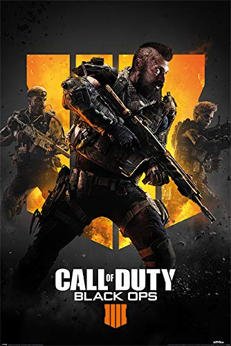 Close Up G874685 Call of Duty Black Ops 4 Trio Poster, Mehrfarbig, 61 x 91.5cm, 2 Einzelteil