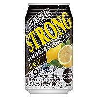 合同酒精 チューハイ サワー 直球勝負 ストロングレモン 350ml 24缶入 1ケース (24本)