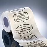 infactory Klopapier bedruckt Fun: Toilettenpapier Witze, 1 Rolle (Fun Toilettenpapier Rollen) - 2