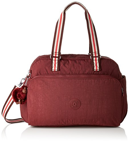 Kipling JULY BAG Tote da palestra, 45 cm, 21 liters, Marrone (Burnt Carmine M)