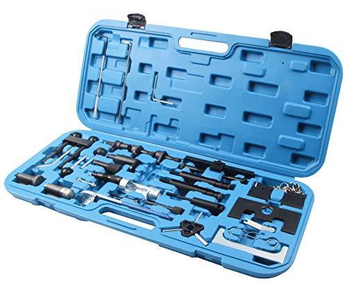 SLPRO Motor Arretierwerkzeug Einstell Zahnriemen Werkzeug Satz passend für 1,9 ltr. / 2,0 ltr. TDI Pumpe/Düse. 1,4L/1,6L