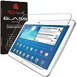 TECHGEAR Panzerglas für Galaxy Tab 3 10,1 Zoll (GT-P5200 Series) - Panzerglasfolie Anti-Kratzer Schutzabdeckung kompatibel mit Samsung Galaxy Tab 3 10,1 Zoll