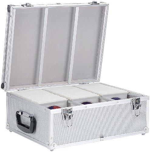 Xcase CD Aufbewahrung: CD/DVD/BD-Koffer für 600 CD/DVD/BDs (CD Box)