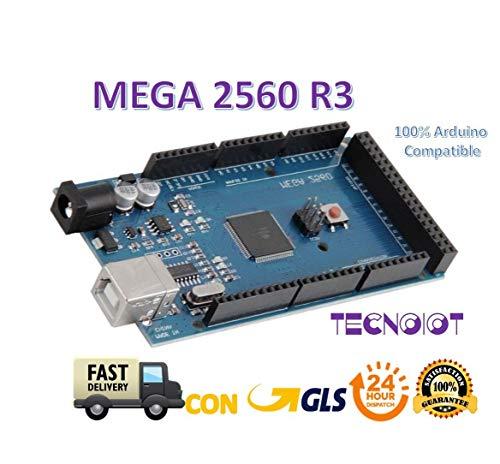 TECNOIOT Mega 2560 R3 Board 100% Compatible | Mega