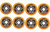 Labeda Asphalt Orange Inline Hockey Skate Wheels - 80mm