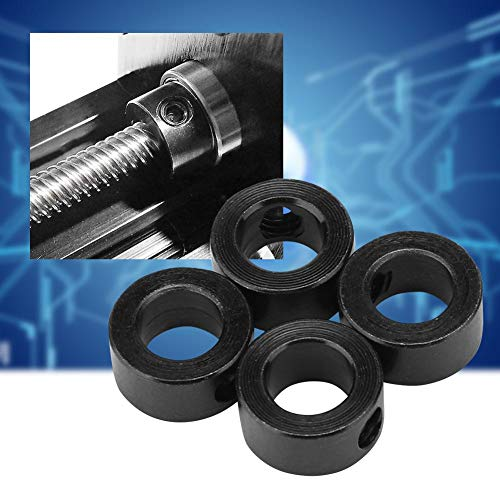 Jarchii 【2021 New Year 𝐏𝐫𝐨𝐦𝐨𝐭𝐢𝐨𝐧】 Precise Hole Position Lock Ring, Carefully Welding Shaft Lock Collar, for 3D Printer