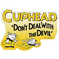 CUPHEAD トラベルステッカー (4) カップヘッド&マグマン