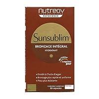 Nutreov Sunsublim Integral Tan 30caps [並行輸入品]