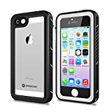 SPIDERCASE iPhone 5/5S/SE Waterproof Case, Full Body Protective Cover Rugged Dustproof Snowproof Waterproof Case with...
