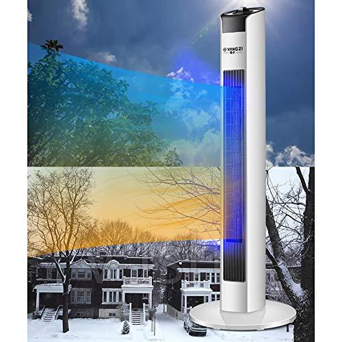 DYCLE Calentador eléctrico de 2000 vatios/Calentador de Torre/Calentadores de Patio, Elemento Calefactor cerámico PTC, Tres Niveles de calefacción, Uso en Interiores o Exteriores