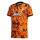 adidas Juventus FC Temporada 2020/21 JUVE 3 JSY Camiseta Tercera equipación, Unisex, Bahia Orange, XL