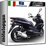 GPR - Tubo de escape completo HOM Furore aluminio Honda PCX 125 IE 2012 12 2013 13