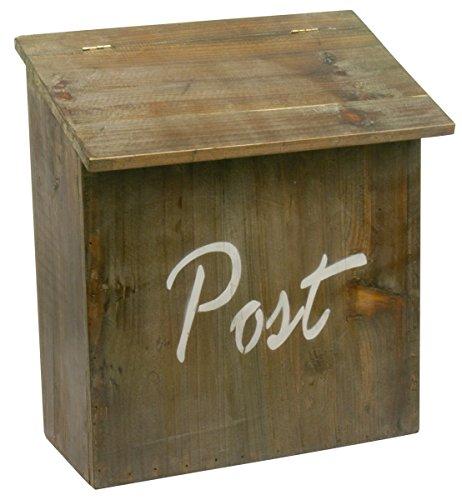 Sehr einfacher Briefkasten aus Holz