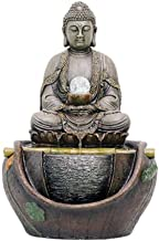 Indoor Fountains Feng Shui Ornaments Indoor Tabletop Water Fountain Buddha Statue Water Flowing Fountain Indoor Flowing Wa...