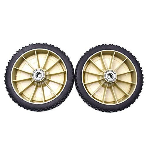 JRL Craftsman cortadora de césped de 8 pulgadas x 1,7 pulgadas para rueda trasera de cortacéspedes autopropulsadas