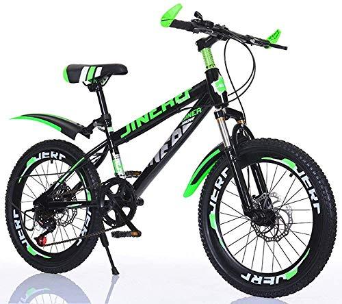 For enfants Bicles 20 pouces Mountain Bikes étudiants Sports de plein air vélo Garçons Bicle Filles Bicles for enfants Bicles, VTT, jeunesse Bicles, absorption des chocs et à vitesse variable LIN liuc